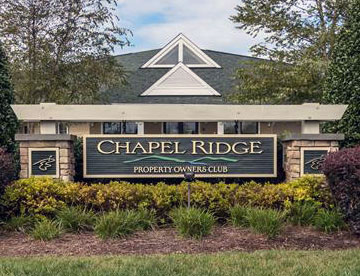 Chapel Ridge, Pittsboro, NC